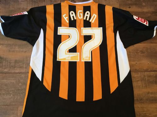 2005 2006 Hull City Fagan Player Issue Home Football Shirt